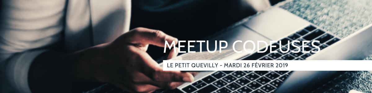Meetup codeurs en seine Février 2019